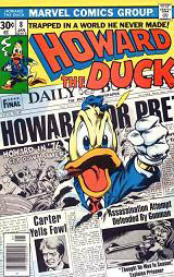 Serietidning med Howard the Duck