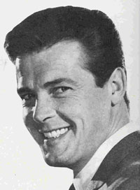 Roger Moore som ung