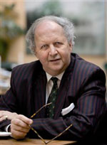 Alexander McCall Smith. Foto Torbjörn Andersson