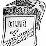 Club of detectives bricka