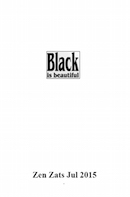 Omslag till Black is beautiful