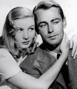 Veronica Lake och Alan Ladd